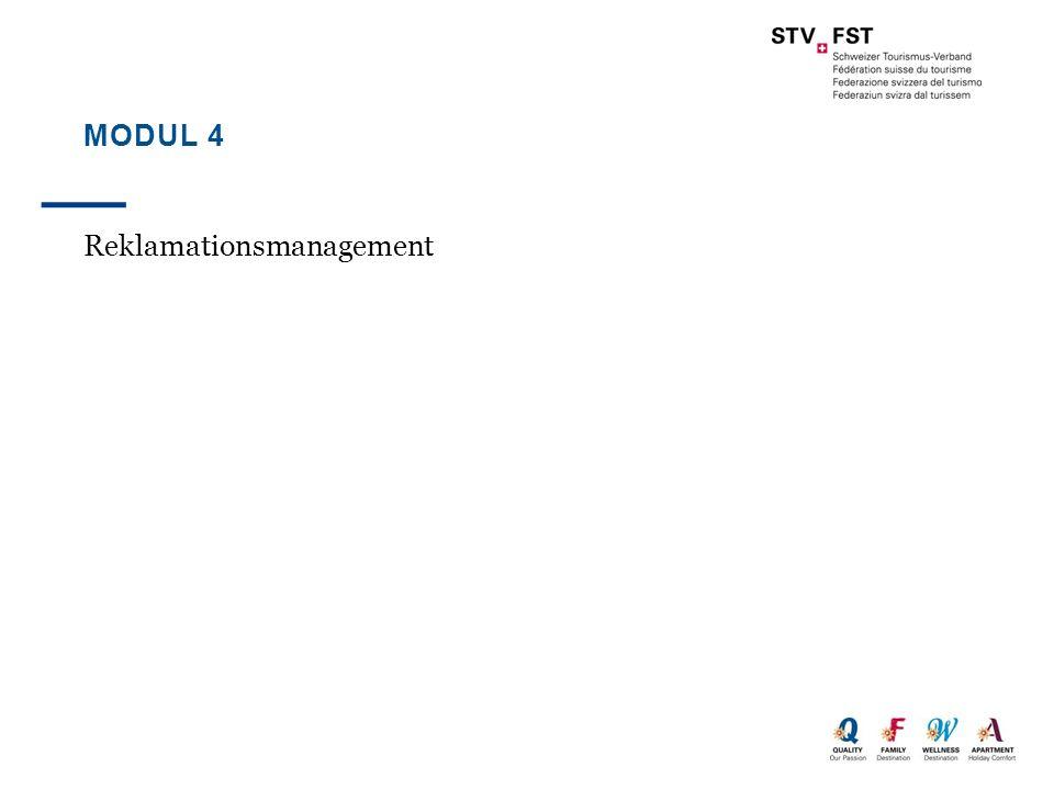 Modul 4 Reklamationsmanagement