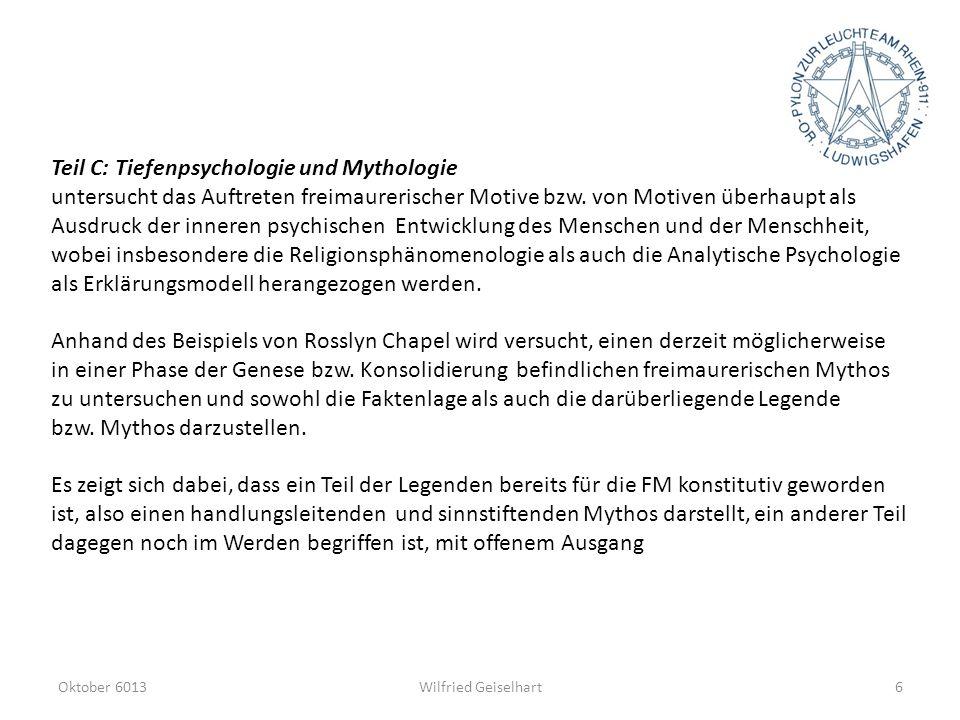 Teil C: Tiefenpsychologie und Mythologie