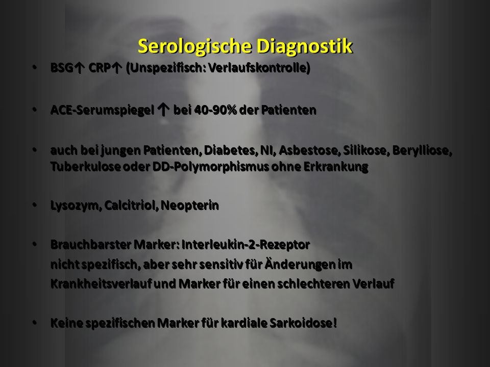 Serologische Diagnostik