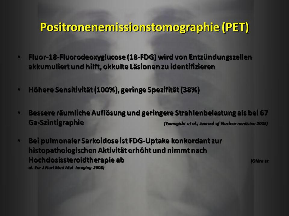 Positronenemissionstomographie (PET)