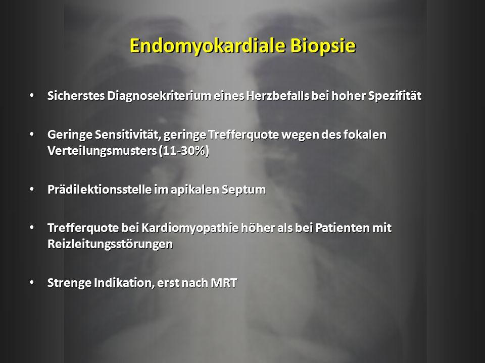 Endomyokardiale Biopsie