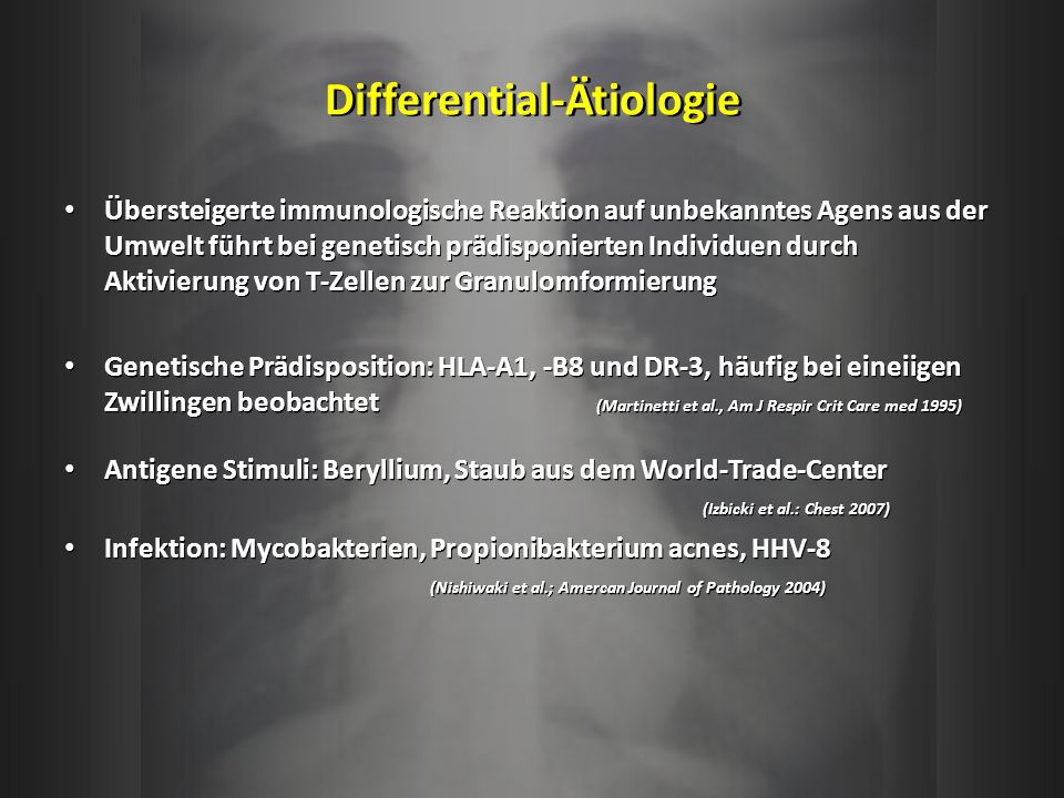 Differential-Ätiologie