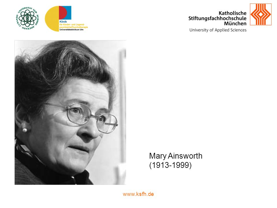 Mary Ainsworth ( )