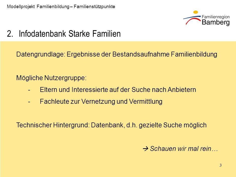Infodatenbank Starke Familien