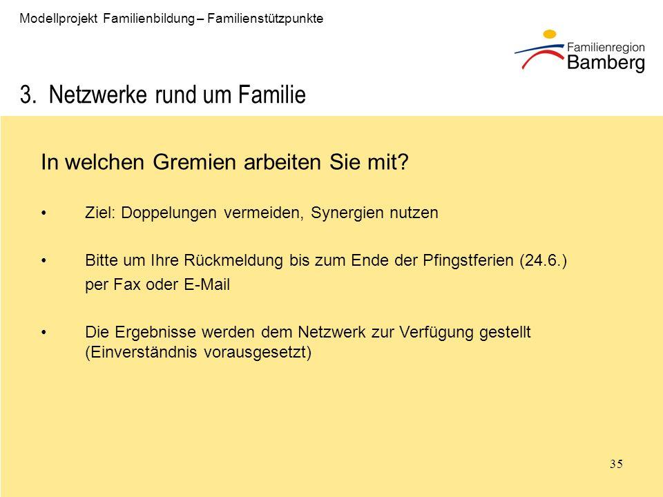 3. Netzwerke rund um Familie