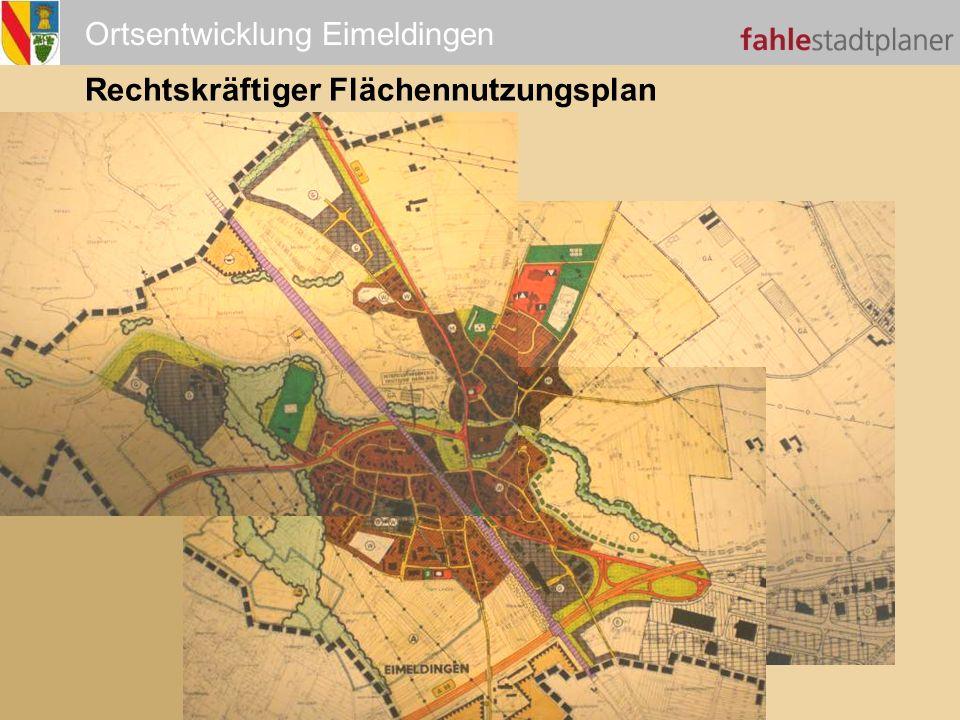 Rechtskräftiger Flächennutzungsplan