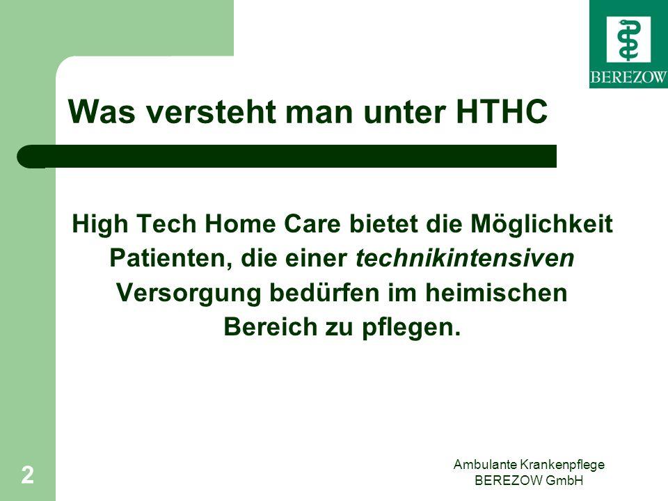 Was versteht man unter HTHC