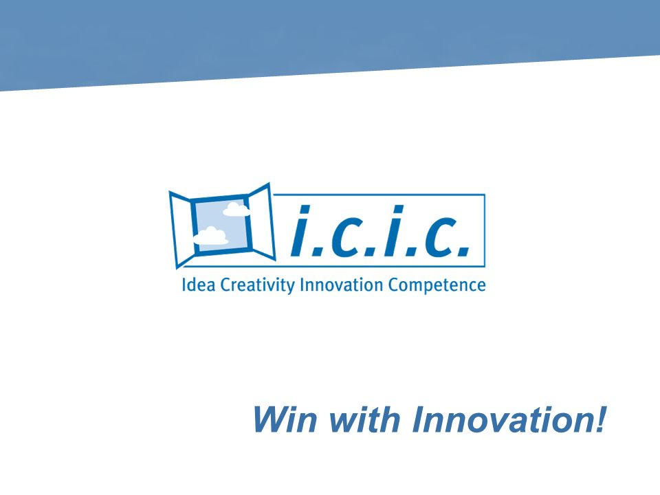 Win with Innovation!