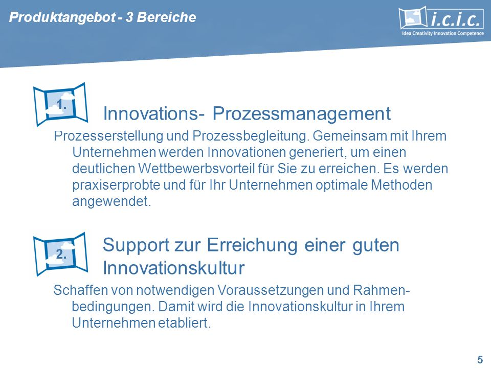 Innovations- Prozessmanagement