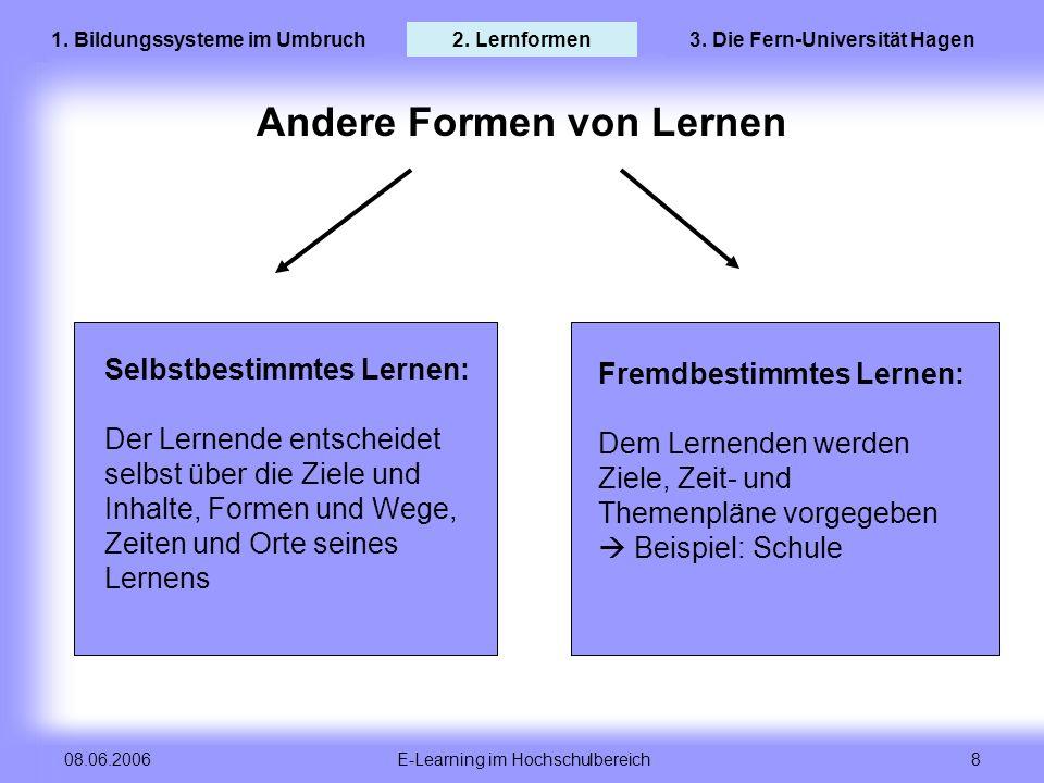 3. Die Fern-Universität Hagen Andere Formen von Lernen