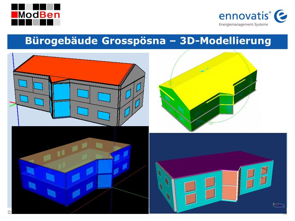 Bürogebäude Grosspösna – 3D-Modellierung