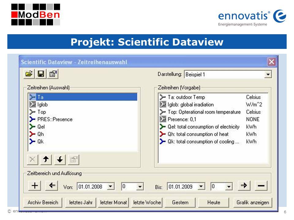 Projekt: Scientific Dataview
