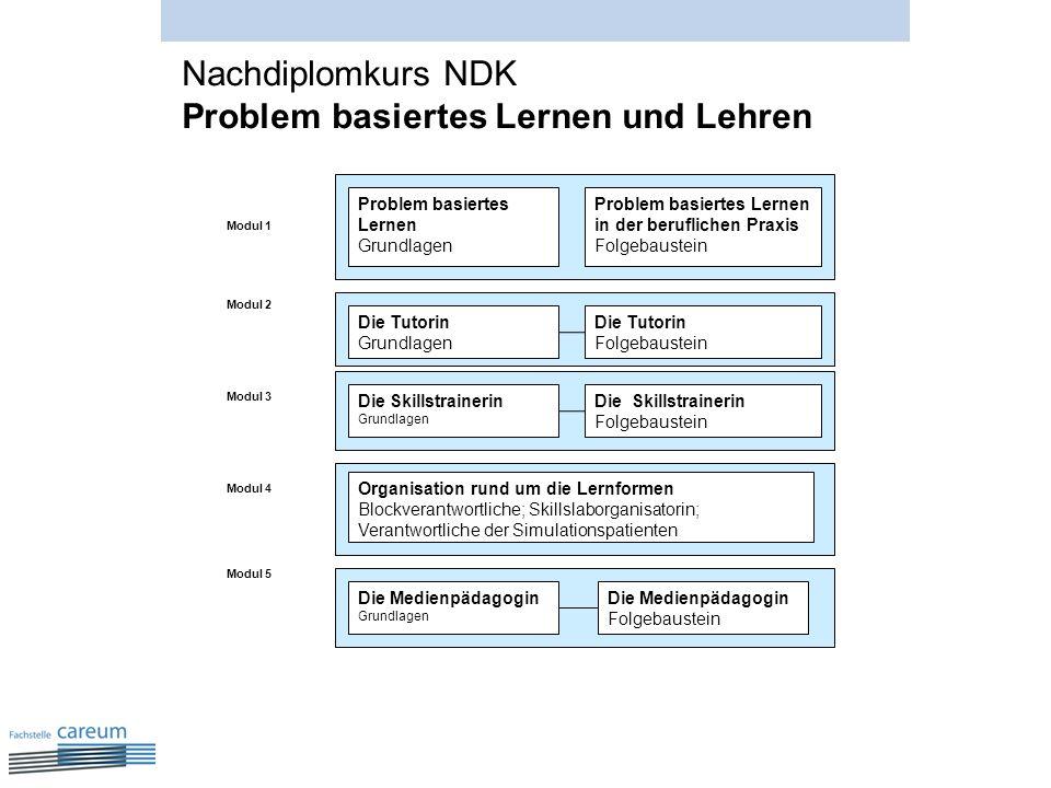 Nachdiplomkurs NDK Problem basiertes Lernen und Lehren
