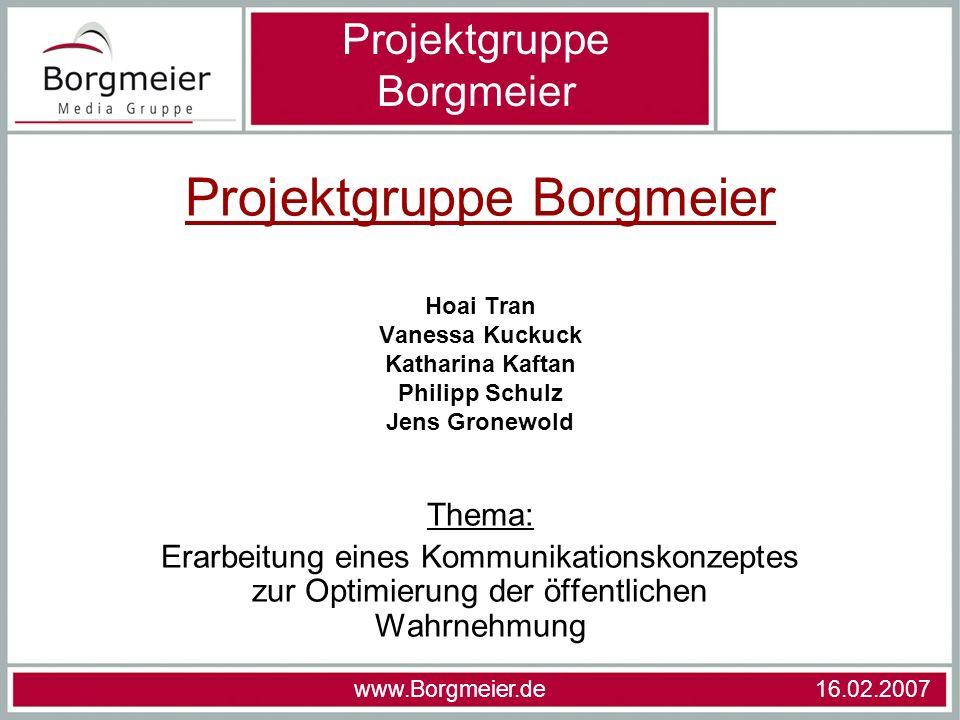 Projektgruppe Borgmeier