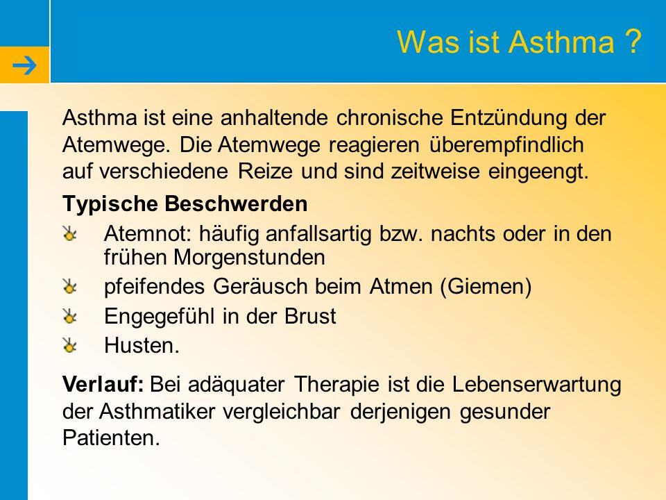Was ist Asthma