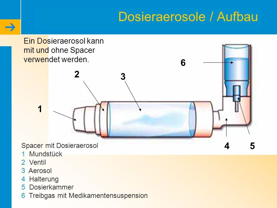 Dosieraerosole / Aufbau