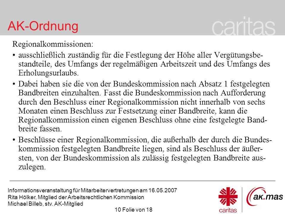Regionalkommissionen: