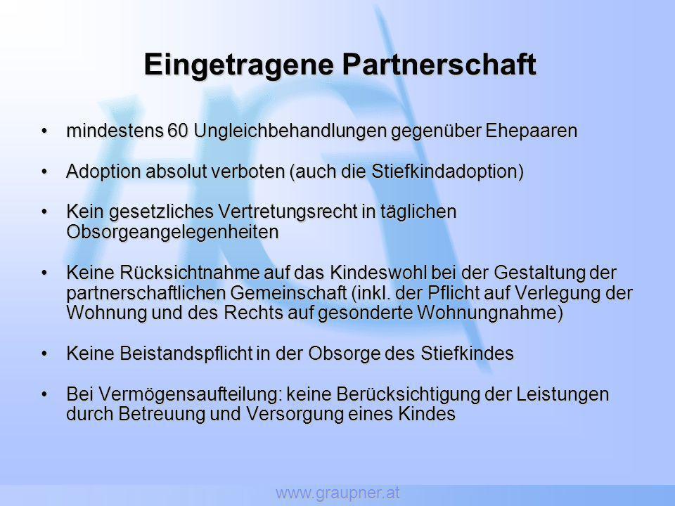 Eingetragene Partnerschaft