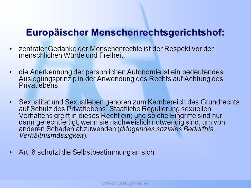 Europäischer Menschenrechtsgerichtshof: