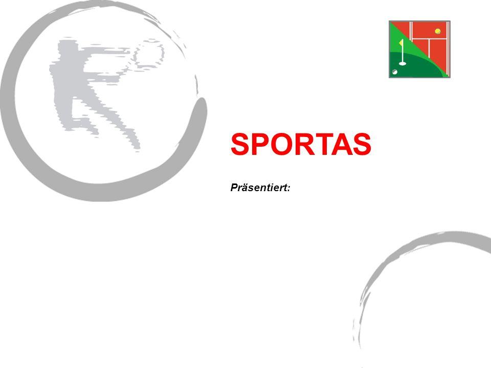 SPORTAS Präsentiert: