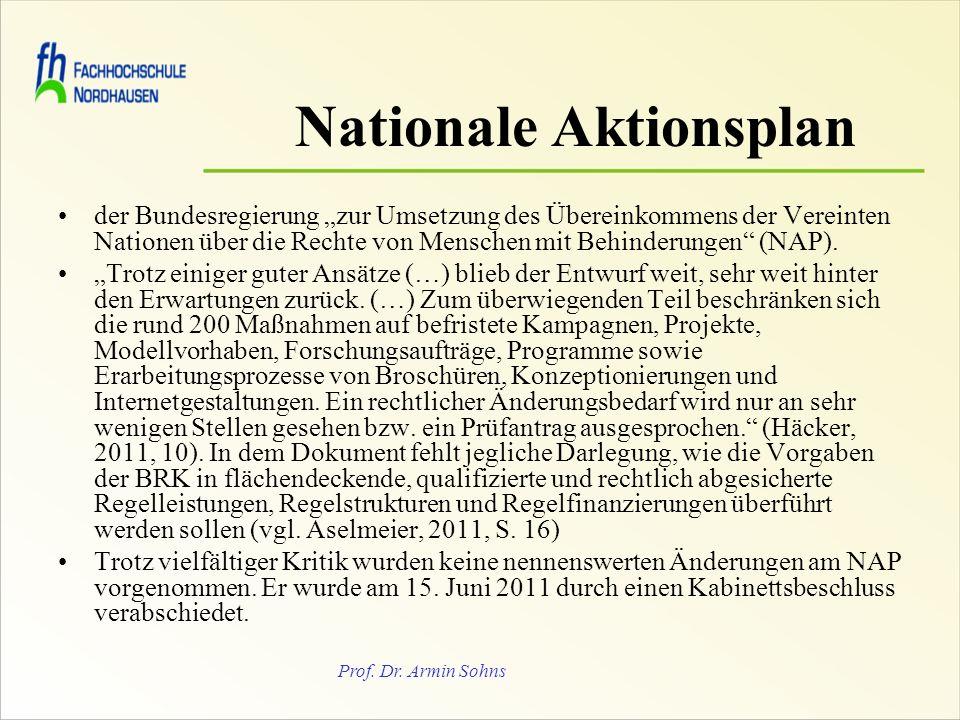 Nationale Aktionsplan