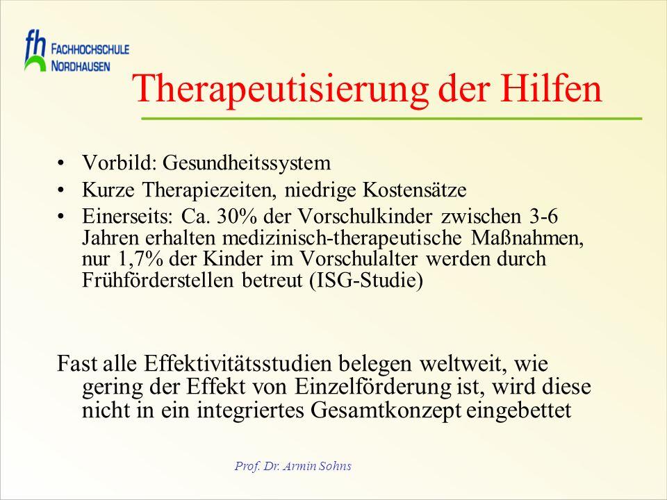 Therapeutisierung der Hilfen