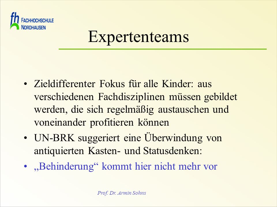 Expertenteams