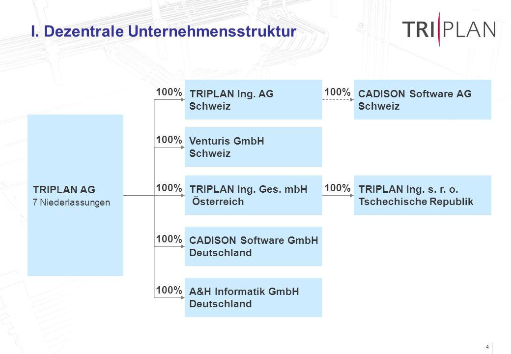 I. Dezentrale Unternehmensstruktur