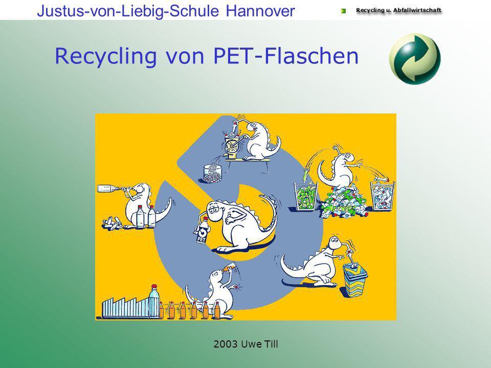 Recycling von PET-Flaschen