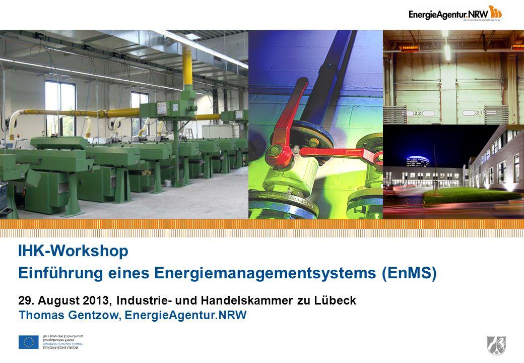 Einführung eines Energiemanagementsystems (EnMS)