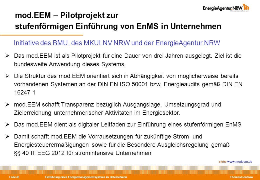 mod.EEM – Pilotprojekt zur