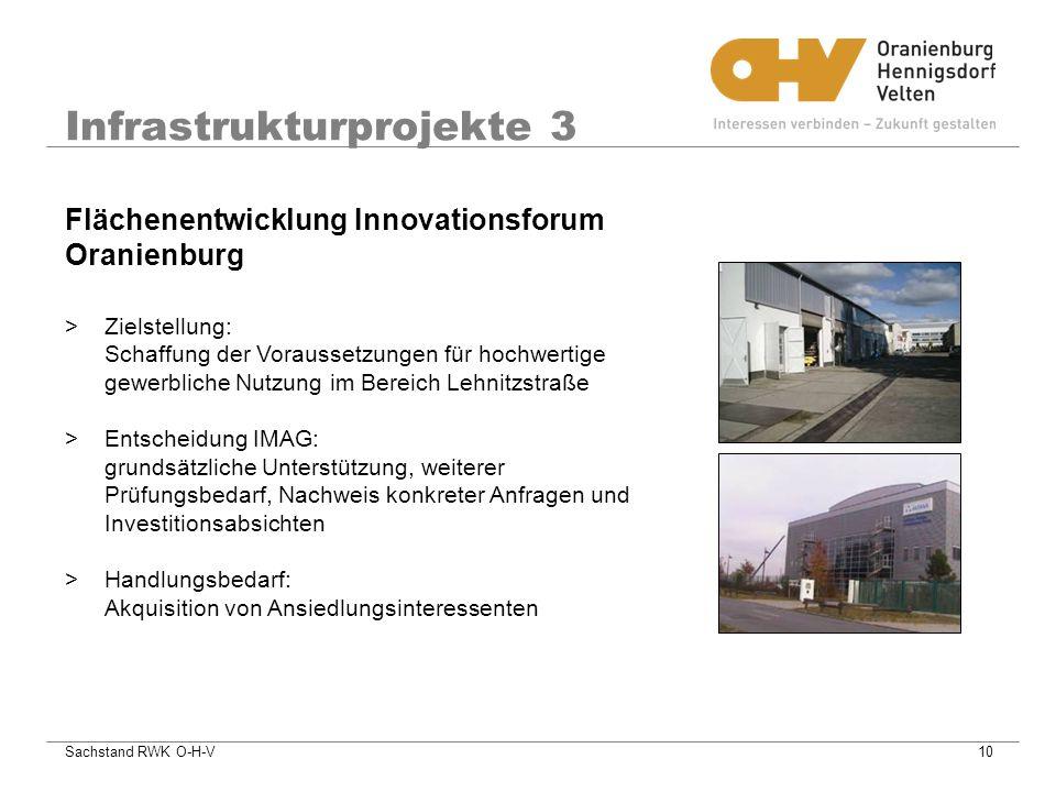 Infrastrukturprojekte 3