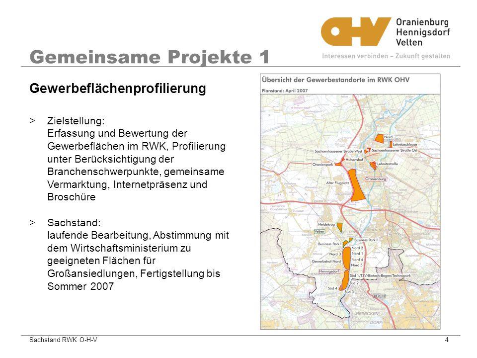 Gemeinsame Projekte 1 Gewerbeflächenprofilierung