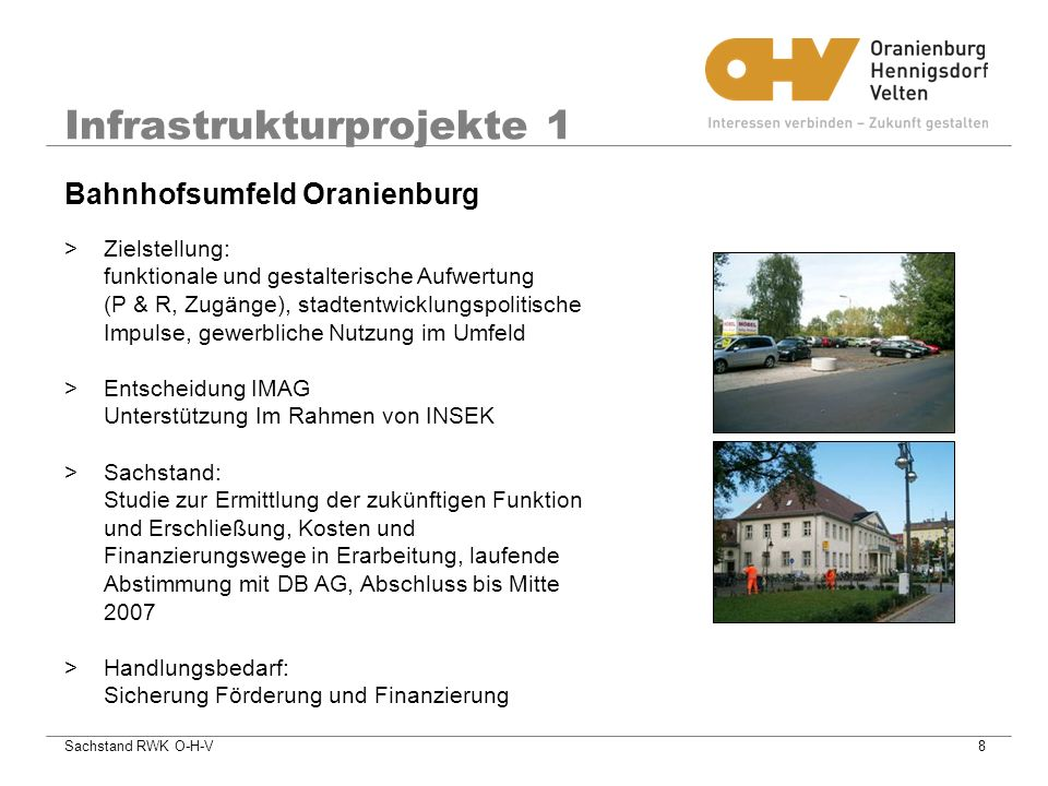 Infrastrukturprojekte 1