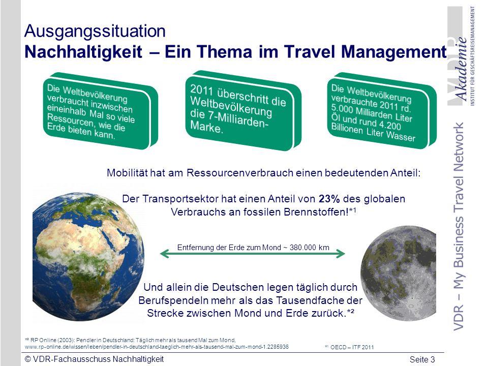 Ausgangssituation Nachhaltigkeit – Ein Thema im Travel Management