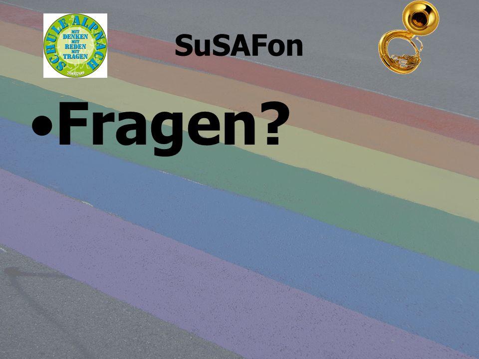 SuSAFon Fragen