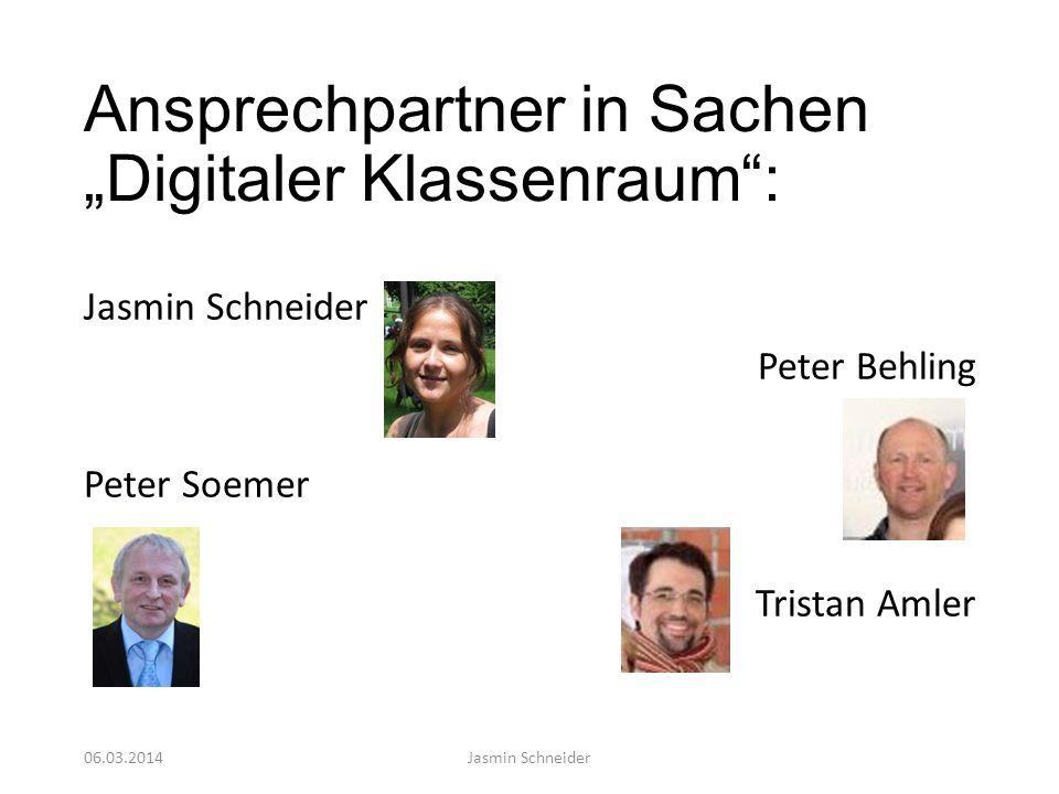 """Ansprechpartner in Sachen """"Digitaler Klassenraum :"""