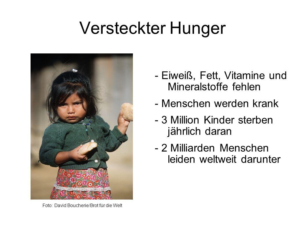 Versteckter Hunger Foto: David Boucherie/Brot für die Welt.