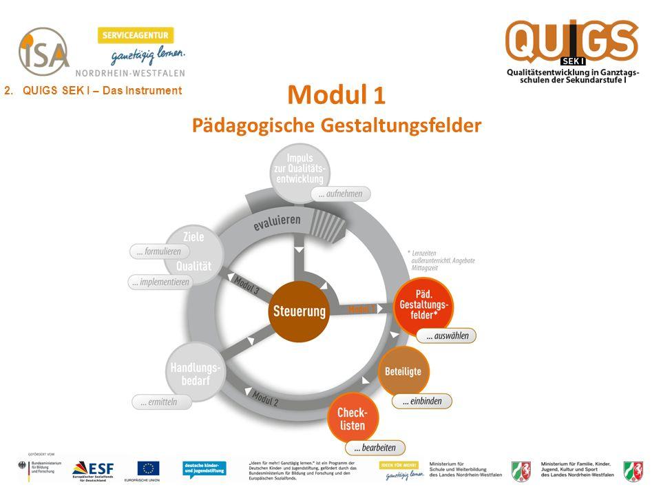 Modul 1 Pädagogische Gestaltungsfelder