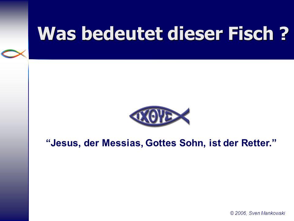 Was bedeutet dieser Fisch