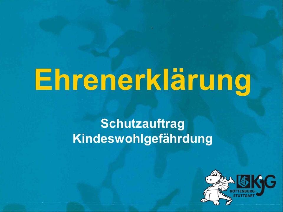Schutzauftrag Kindeswohlgefährdung