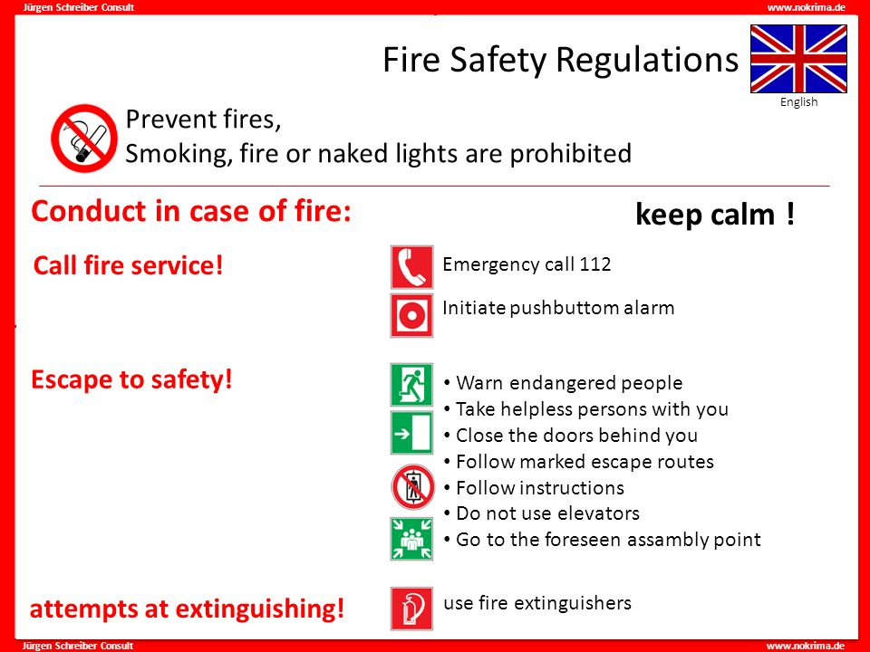 Fire Safety Regulations