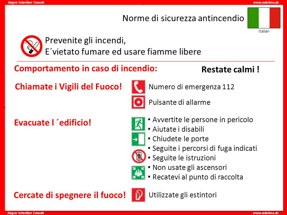 Norme di sicurezza antincendio