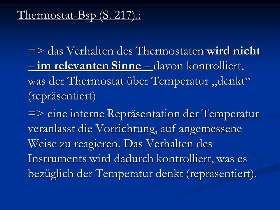 Thermostat-Bsp (S. 217).: