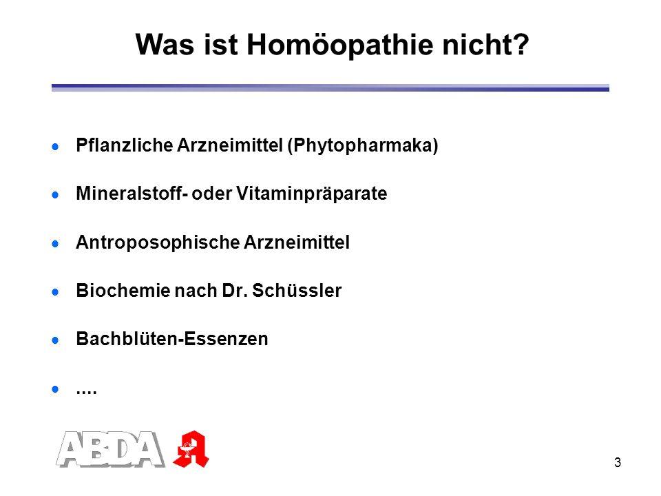 Was ist Homöopathie nicht