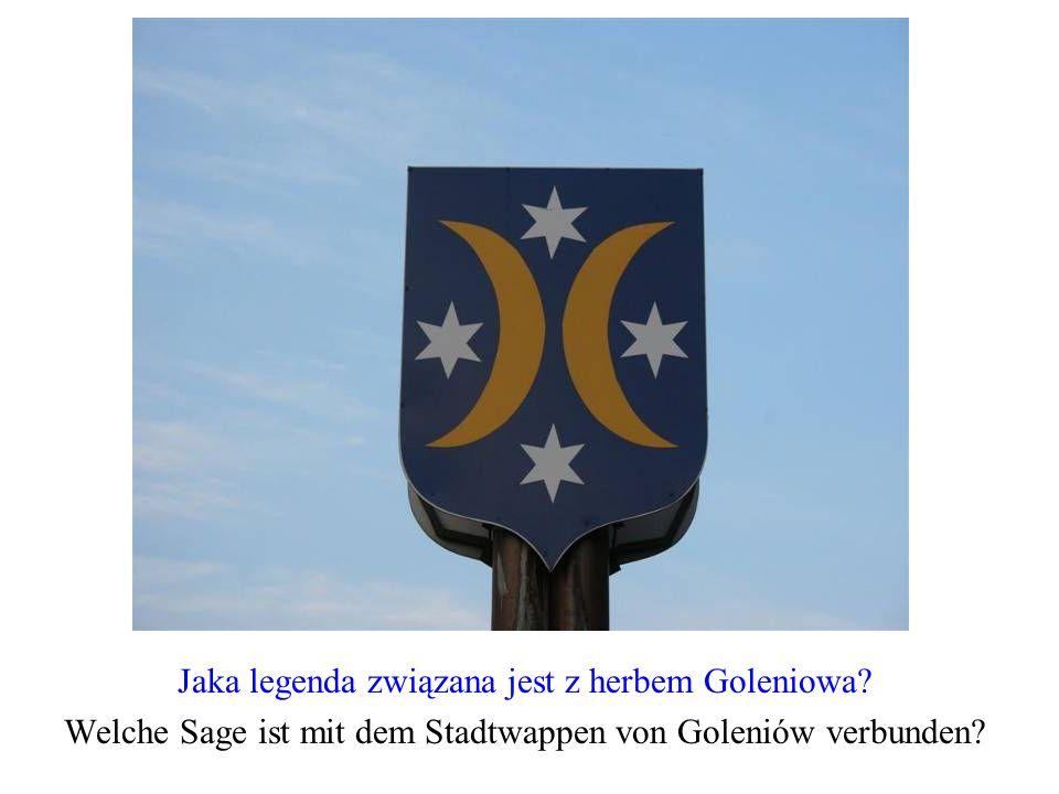 Jaka legenda związana jest z herbem Goleniowa