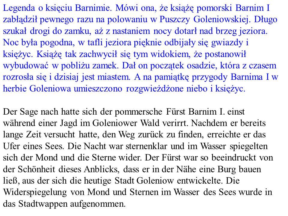 Legenda o księciu Barnimie