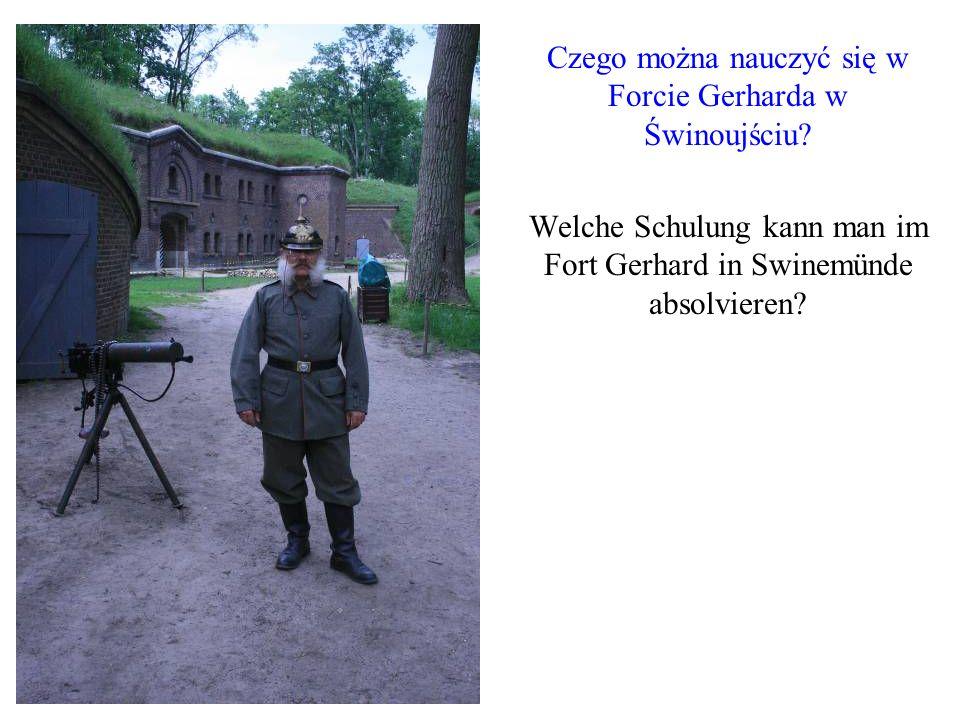 Czego można nauczyć się w Forcie Gerharda w Świnoujściu