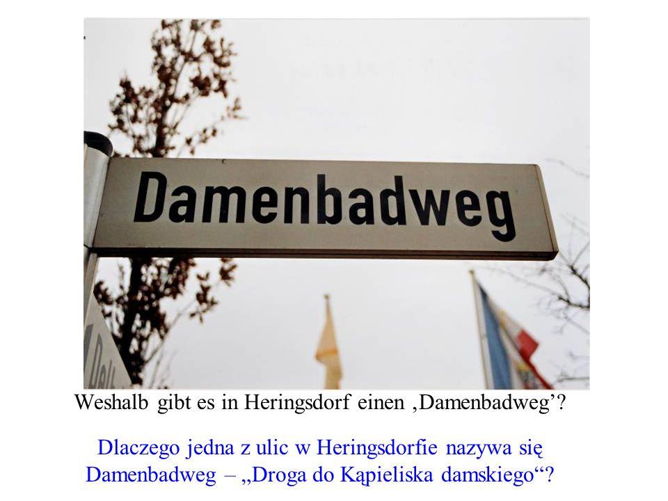 Weshalb gibt es in Heringsdorf einen 'Damenbadweg'