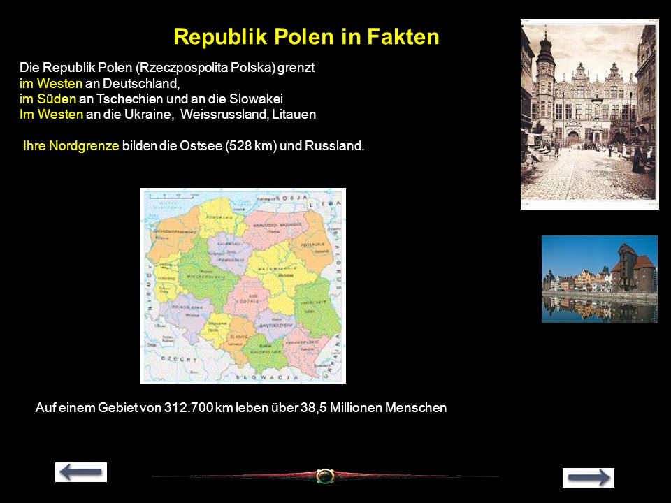 Republik Polen in Fakten